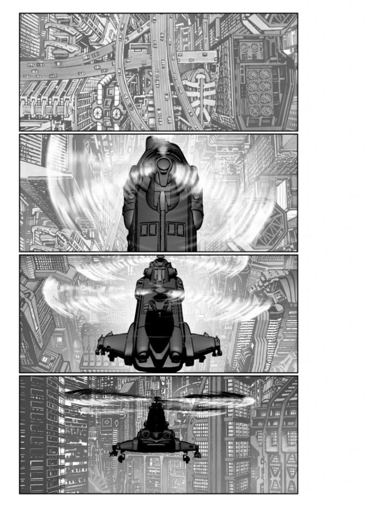 Akira Chopper 02 746x1024 Veja os storyboards da adaptação de Akira