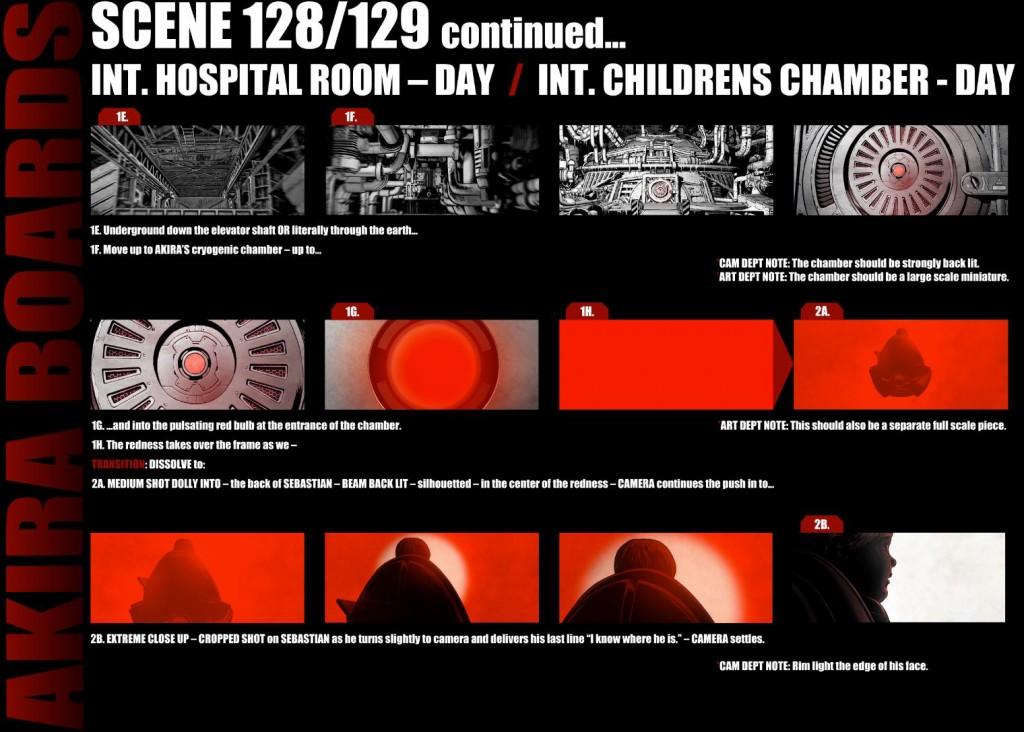 Akira Cryo chamber 1024x732 Veja os storyboards da adaptação de Akira
