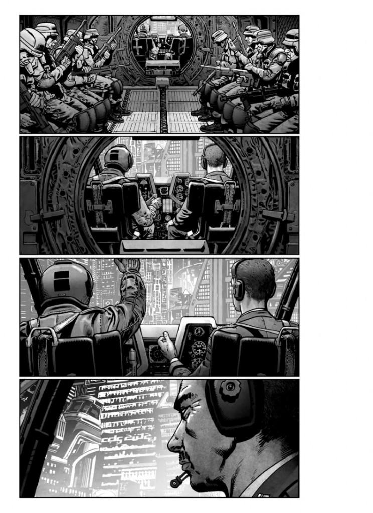 Akira chopper interior 744x1024 Veja os storyboards da adaptação de Akira