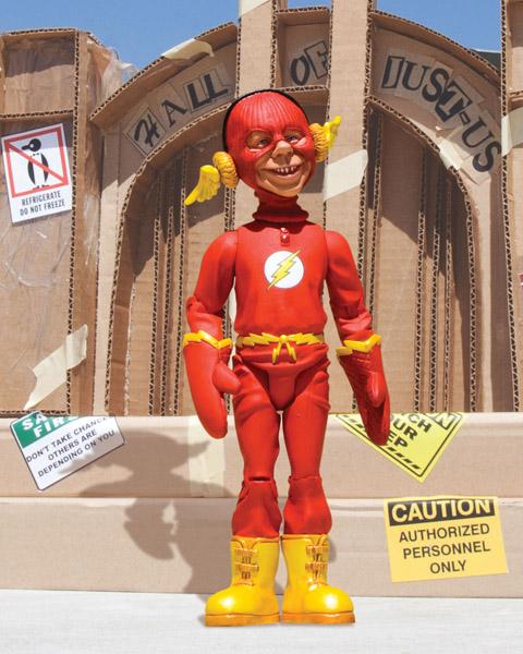 Flash1 Mad lança action figures da Liga da Justiça