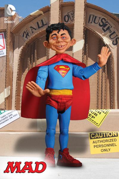 Superman Mad lança action figures da Liga da Justiça