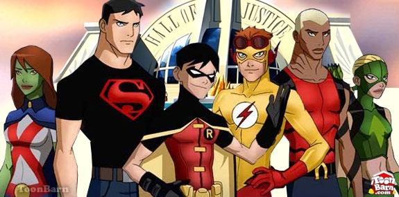 Young Justice 20 anos de Cartoon Network