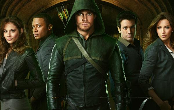 A estréia de Arrow na tv brasileira