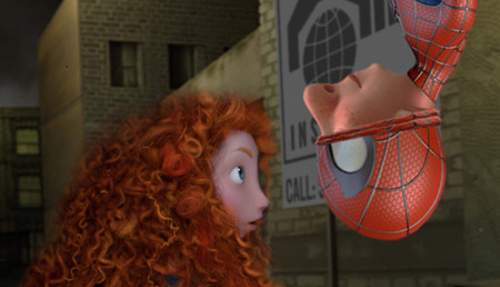 Super-heróis no estilo Pixar