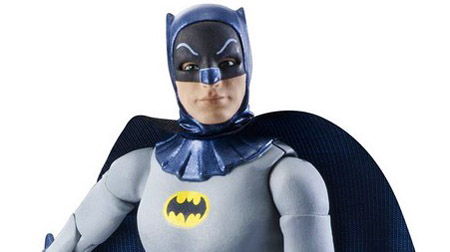 Nova linha de action-figures do seriado do Batman