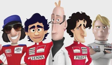 McLaren comemora 50 anos com série animada