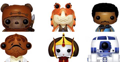 Funko Star Wars: nova linha de action-figures
