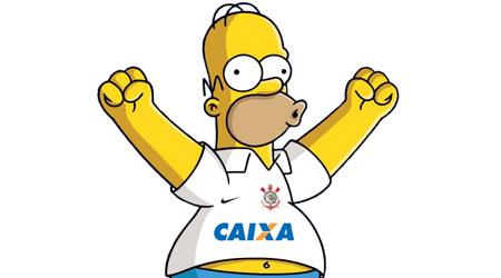 Simpsons podem fechar parceria com o Corinthians