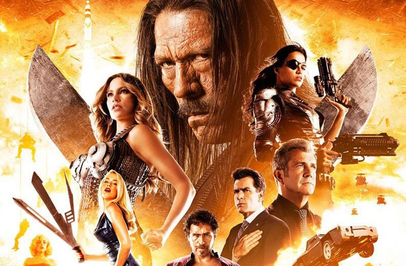 Machete Kills e o melhor trailer 3D da história