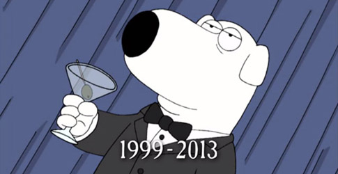 Family Guy: o adeus a Brian Griffin