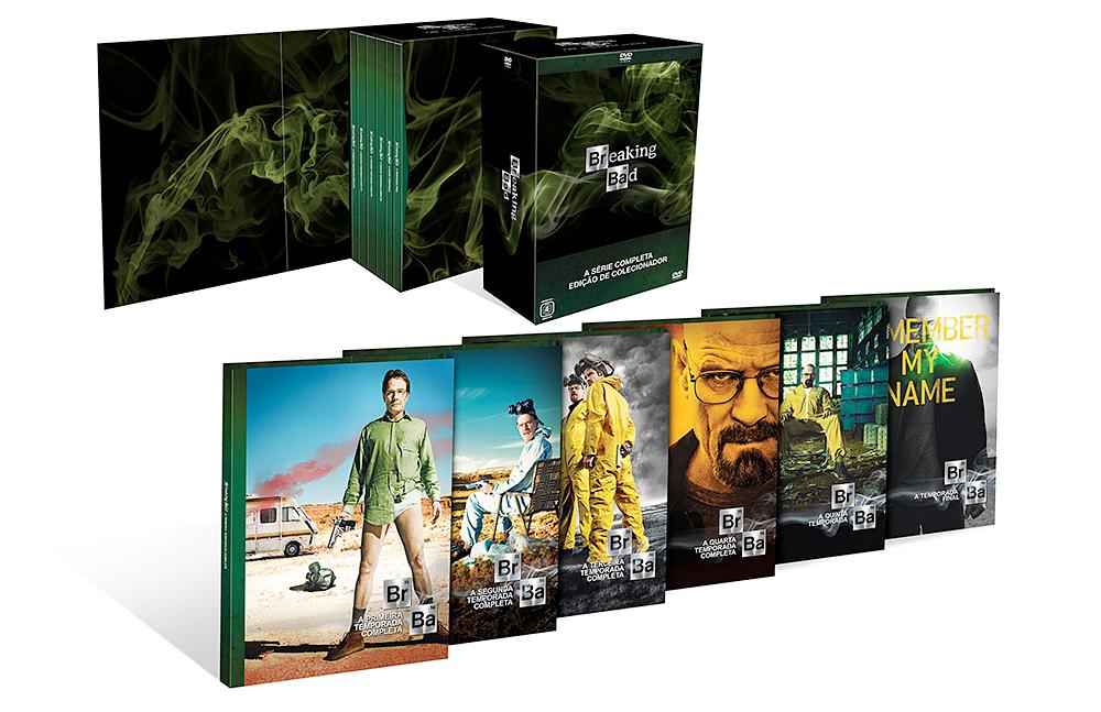 Breaking Bad lança hoje Temporada Final e Box Especial da série