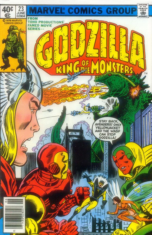 Godzilla Marvel
