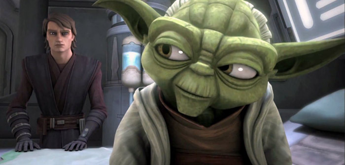 Anakin Yoda Star Wars The Clone Wars: temporada final pela Netflix