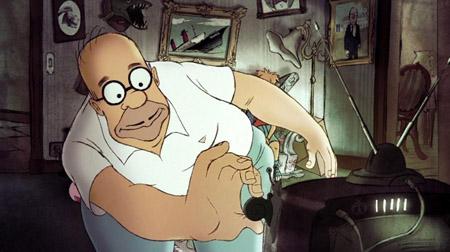 Diretor de As Bicicletas de Belleville nos Simpsons