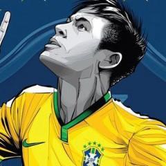 Artista brasileiro cria série de posters para a Copa