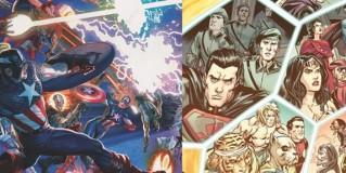 Marvel e DC se copiam em suas novas sagas