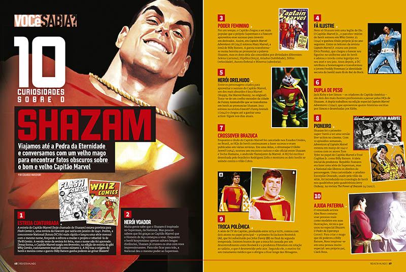 8. Curiosidades sobre Shazam