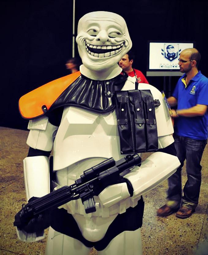 Troll Trooper: um inimigo muito pior do que o Império.