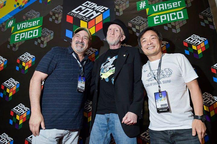 Dan Didio, Frank Miller e Jim Lee, alguns dos muitos convidados internacionais da CCXP 2015.