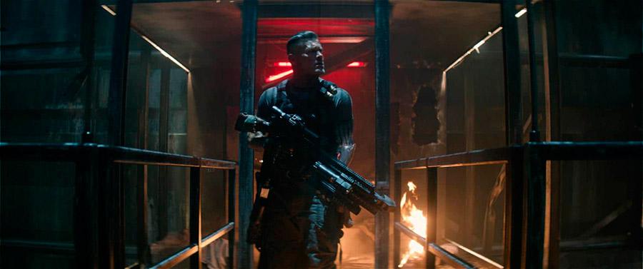 Josh Brolin como Cable. foto divulgação.