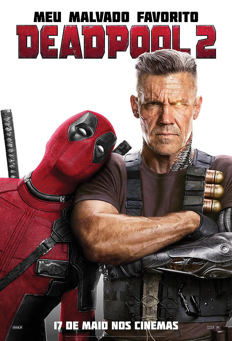Deadpool e Cable. Foto divulgação Deadpool 2.