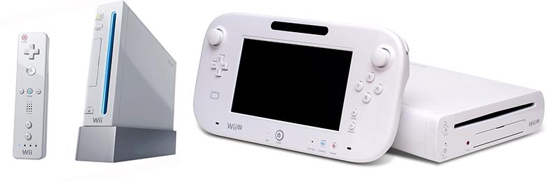 Nintendo Wii e nintendo Wii U