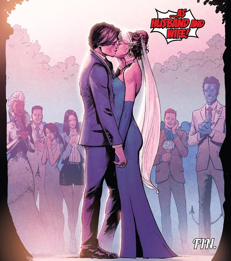 Casamento de Gambit e Vampira